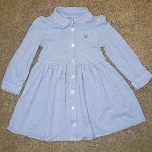 Toddler girls long sleeve dress